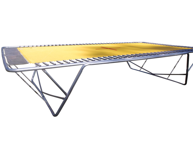 Olympic Std Aussie Trampoline - Black Poly or Yellow 2 ...