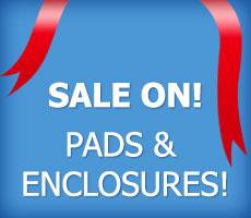 Spare Parts Sale - pads & enclosures