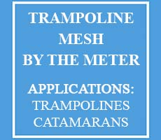 Trampoline Mesh sold by the meter