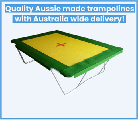 Quality aussie trampolines with australia wide delivery