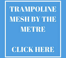 Trampoline Mesh sold by the metre