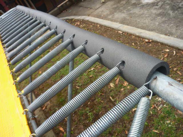 Rectangle Trampoline Olympic Standard Aussie Trampoline