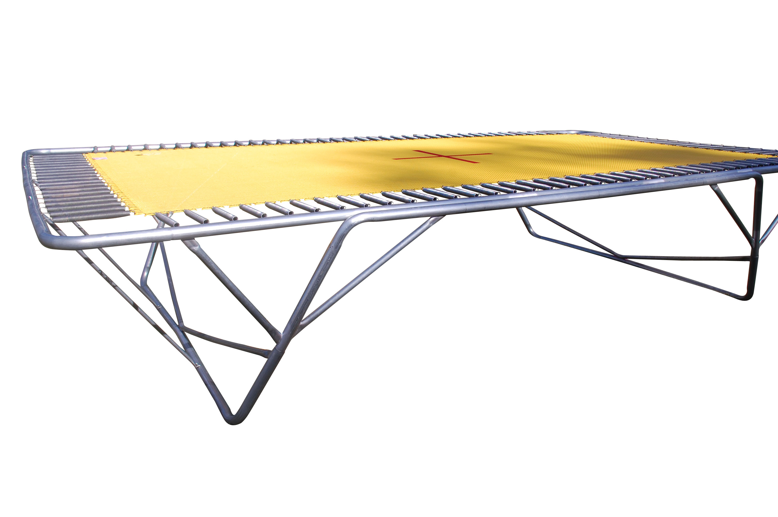 Pro Jumbo Aussie Trampoline Black Poly Or Yellow 2