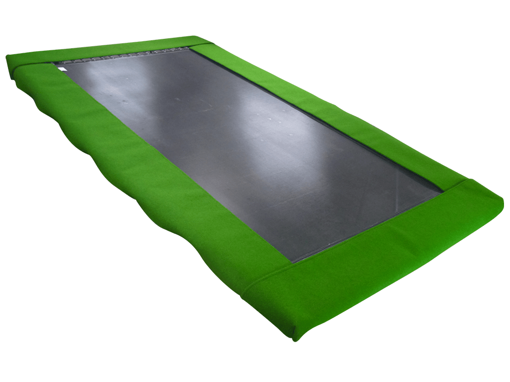 Rectangle Trampoline Olympic Standard Aussie Trampoline