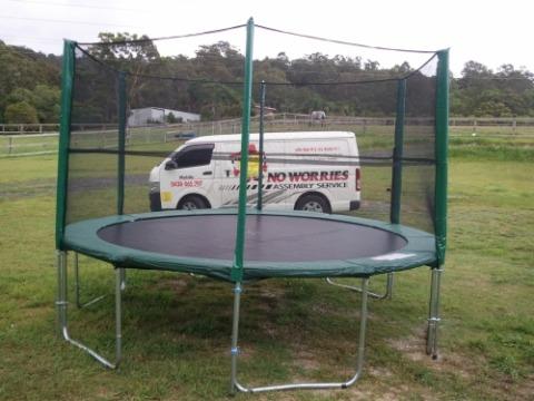 trampoline-assembly
