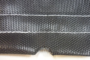 Rectangle Trampoline Mat Black Poly 50 Years Experience