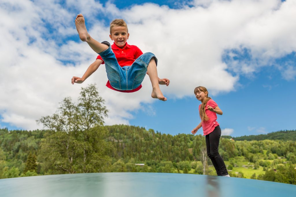Jumping is essential for kids