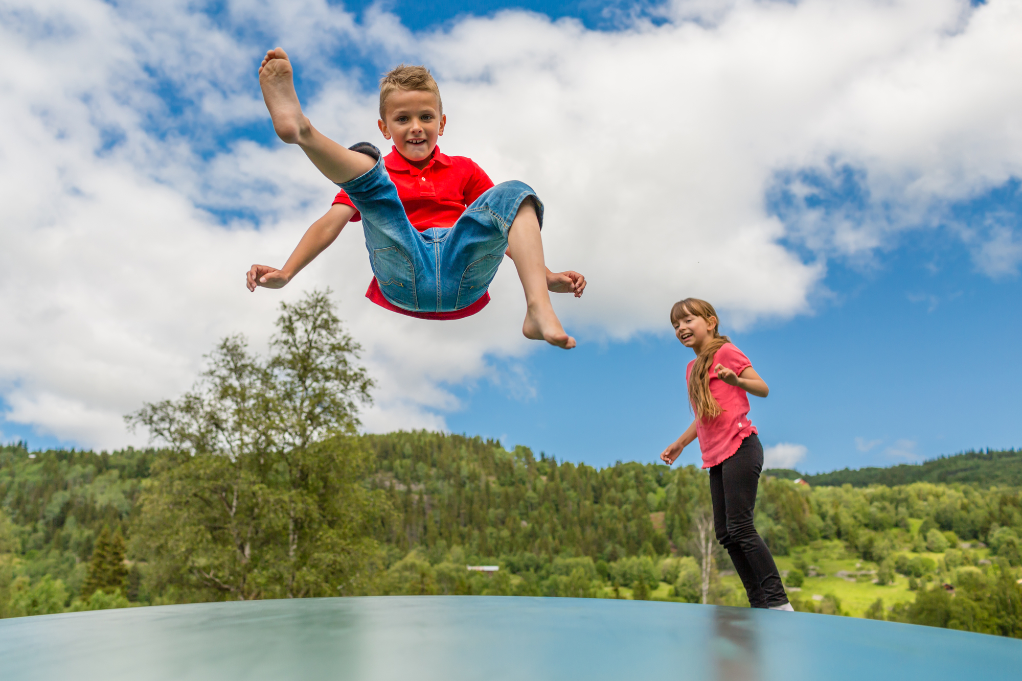 Why Jumping is Essential for Kids - Topline Trampolines