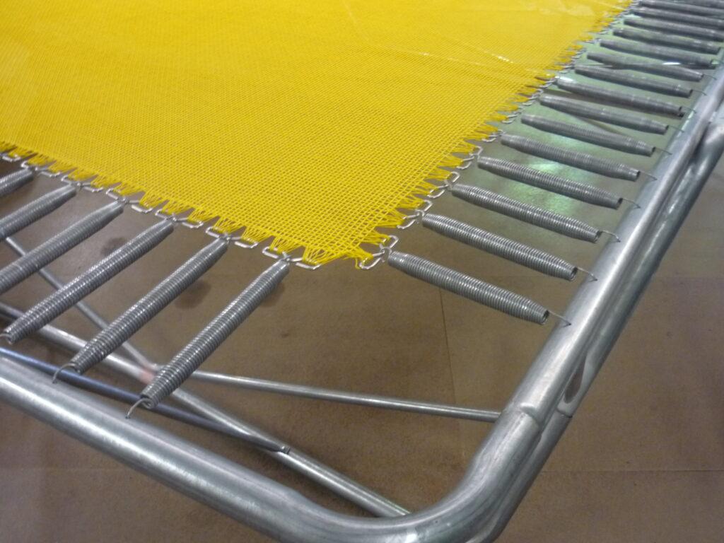 2 string trampoline mats