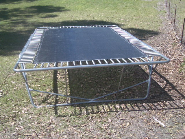trampolines topline round australian made model